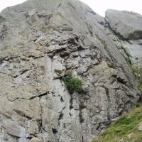 Wot! A dry Crag - Fang Butress (Colin Maddison)