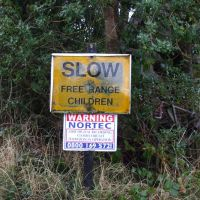 Children sign (Jim Symon)