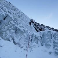 Colin on WI 4, Rjukan, Norway (Craig Marsden)