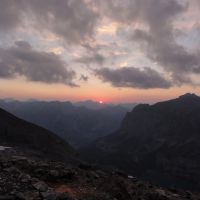 Sunset from Frunden Hut (Andy Stratford)