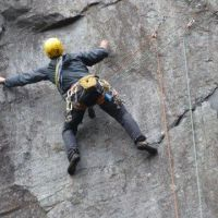 Gareth Williams on Khubla Khan (E4 6b) (Alan (L) Jones)