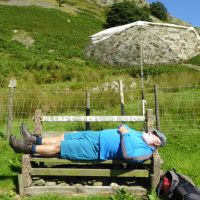 Human Interest. - Highly Commended - John having a hard day in the hills
