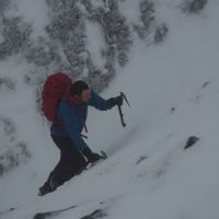 Highly Commended - Stuart Hurworth soloing Col Gully, Glyderau (Andy Stratford)