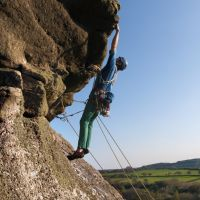 Highly Commended Chris Ebbutt on Maximagur HVS5b HeltorRock