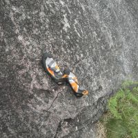 Testing the friction - Etive Slabs (Colin Maddison)